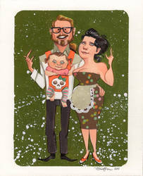 Tony and Kara by shmisten