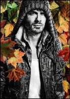 Ian Somerhalder by dreamarian