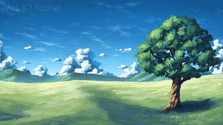 BG art: Field by Badriel