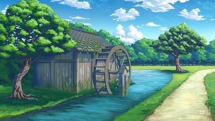 Watermill by Badriel