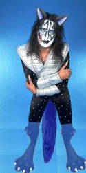 Wolfified Space Ace (Ace Frehley), 2 by shewolfsiren