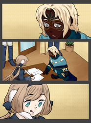 PQ: Reporting In [Collab] by KiyokoAmaya