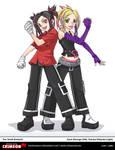 Zyne and Yezuka by OracleSaturn