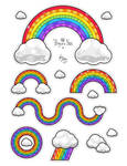 Rainbows A by OracleSaturn