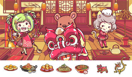 Chinese New Year 2019 by OracleSaturn