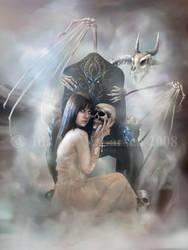 Queen of the Dead II by IdaLarsenArt