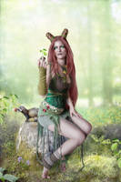 Queen of Spring by IdaLarsenArt