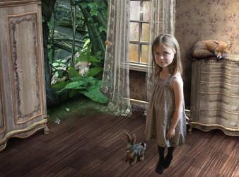 The Magic of Childhood by IdaLarsenArt