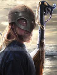 The Raid - Revised by IdaLarsenArt