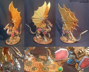 Wyrmgear The Clockwork Dragon by Dragasci