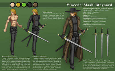 Slash Character Sheet by KayinNasaki