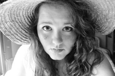 Fun with a straw hat 2 by shineslikethesun