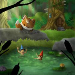 Summer fox by NuBeazul87
