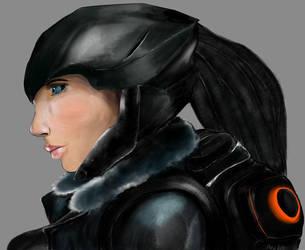 Cyberpunk Division Cyborg by Metrolunar80