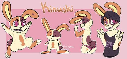 Kinuski ref by damn-days