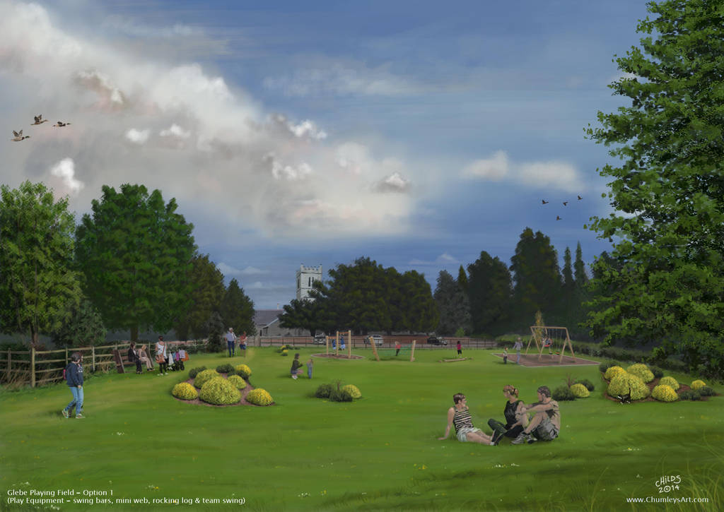 Bleasby Painting (Option1) by ChumleysArt