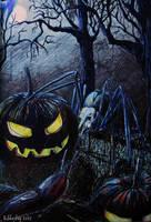 It's Halloween by Skarbog