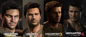 Uncharted Comparisons - Nathan Drake by gtone339