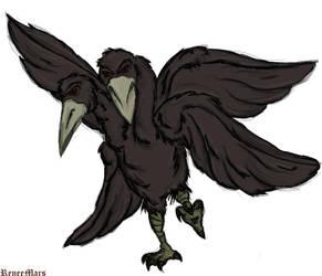 Mutant Crow by ReneeMars