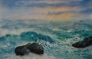 Seascape by EinarAasen