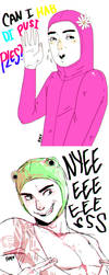 Filthy Frank Characters Doodle by maikeru-mia