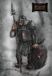 Guard Azog by AntonPo