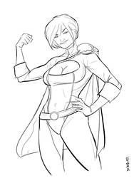 Power Girl DCC by Supajoe