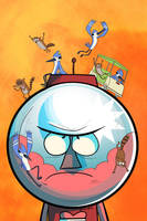 Regular Show Variant Cover by Supajoe