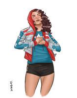 Miss America Chavez by Supajoe