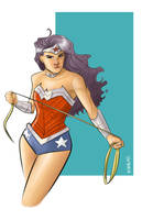 Wonder Woman by Supajoe