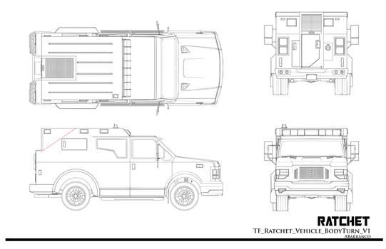 TF Ratchet Vehicle BodyTurn by AugustoBarranco