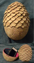 Dragon Egg Prop - Game of Thrones by Atasha