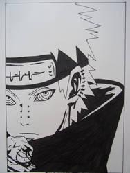 Manga drawings: Pein by DTR2111MANGA