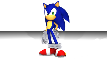 3DS Max Sonic by RedShadowII