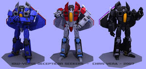 Decepticon Seekers by kurisama