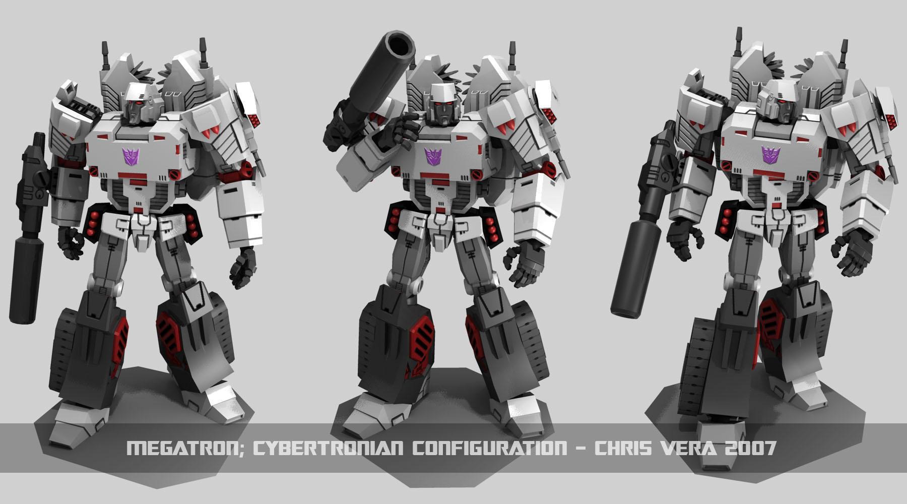 Cybertronian Megatron by kurisama