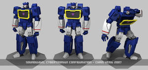 Cybertronian Soundwave by kurisama