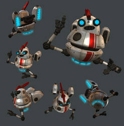 Robo Guide Buddy Guy - Textured by kurisama
