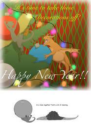 Happy New Year 2019 by nightwindwolf95