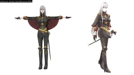 valkyria chronicles[Selvaria Bles][NO DL] by lisomn