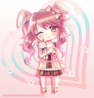 Bunny-chan by Hime-na