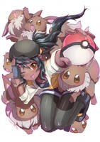 The Eevee Girl by gigiEDT