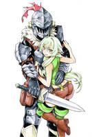 Goblin Slayer x Elf by gigiEDT