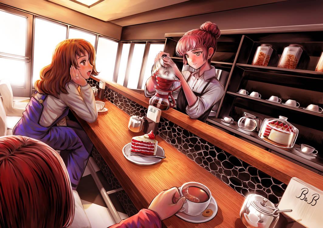 Coffee Shop by gigiEDT