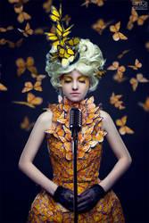 Effie Trinket - The Hunger Games by Cheza-Flower