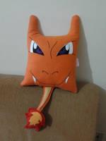 Handmade Anime Pokemon Charizard Plush Pillow by RbitencourtUSA