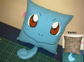 Handmade Anime Pokemon Squirtle Plush Pillow by RbitencourtUSA