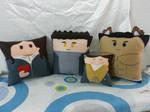 Handmade The Twilight Saga Pillow Set 2 by RbitencourtUSA