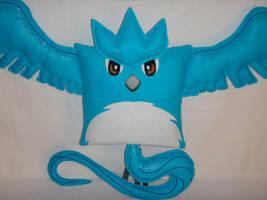 Handmade Anime Pokemon Articuno v1.43 Pillow by RbitencourtUSA