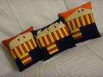 Handmade Harry Potter Trio v1.43 Pillow Set by RbitencourtUSA